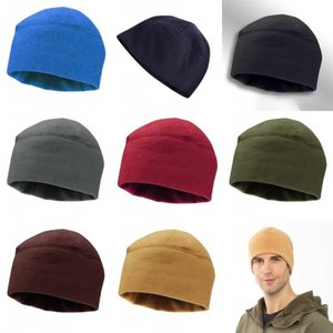 DHL Ship Double Layered Winter Warm Fleece Hats For Cycling Riding Womens Mens Outdoor Sports Hiking Snowboard Caps Fashion Beanies CPA3310