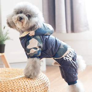 Pet Dog Clothes Winter Warm Fur Coats Waterproof Jacket Puppy Coat For French Bulldog Chihuahua Small Dogs Pets Clothing