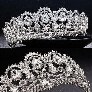 Luxury Bridal Crown Cheap but High Quality Crystal Royal Wedding Tiara Crowns Headband Hair Accessories