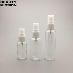30ML / 50ML 60ML المحمولة رذاذ إعادة الملء زجاجة عطر البخاخة زجاجات فارغة البلاستيك حاويات مستحضرات التجميل حالة السفر