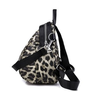 Bags for Women 2020 wild Backpacks Leathe Leopard Female Travel Backpack High Quality Women Bag School Bag Backpack Girl Mochila
