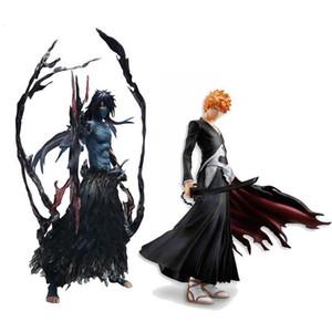 Cool 19cm 22cm Bleach Anime Kurosaki Ichigo Getsuga Tenshou PVC Action Figure Collection Model Toy T190925