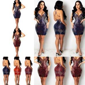 RCZ Designer Femmes robes de forage chaud Sexy Imprimé Split Slim Slim Slim Sans Womens Robes Casual Casl Casl Dress Sexy Robe