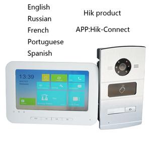 HIK IP Video intercom KIT Bundle,Multi-language HD,RFID Panel and WiFi monitor,IP doorbell door phone,waterproof Y1128