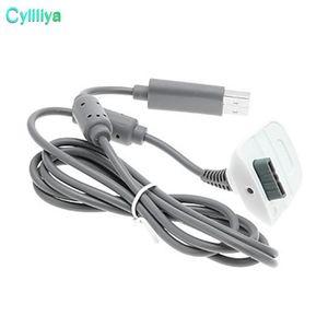 CGJXS 1 .5m USB Play carregador carregando linha cabo cabo para xbox360 xbox 360 controlador de jogo sem fio