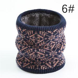 2020 Winter Knit Neck Scarf Ring Women Warm Fashion Snowflake Snood Unisex Magic Collar Scarves Thick Fur Kid Neck Scarfs sqcRKd