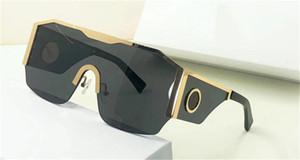 Новые моды солнцезащитные очки 2220 Большая рама связаны объектив дизайн защитные очки популярное стиль высочайшего качества открытый UV400 защитный окунь