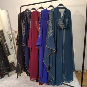 Pullu bolero shrug djelaba femme kadın shrugs niqab abaya kimono uzun Müslüman hırka İslam tunik dubai türkiye musulman ceket