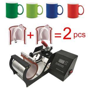 New Easy 11oz Mug Press Machine Sublimation Printer Heat Press Machine Heat Transfer Mug Printing1