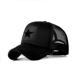 2020 Baseball Cap Men Five-Pointed Star Mesh Caps 8colors Women Bone Summer Breathable Snapback Caps Unisex Outdoor Gorras bone