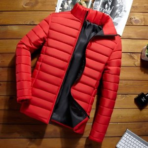 inter Hooded Down Parka Coat New man Down Cotton Jacket Coat Warm Loose Cotton-Padded Coats Overcoat men winter jacket