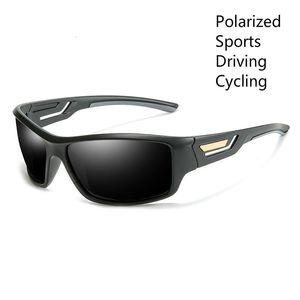 Polarized Sunglasses Men Women Sports Driving Goggles Sun Glasses UV400 Male Eyewear with Glasses Case