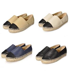Sıcak satış moda fabrika doğrudan satış espadrilles kadın ayakkabı marka gerçek hakiki deri loafer'lar kayma platformu ayakkabı büyük boy 34-42