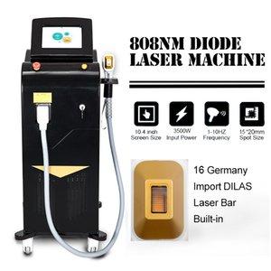 Недавно разработанный быстрый безболезненный 808 диодный лазерный постоянный удаление машины для удаления волос для волос Омоложение для волос для лица