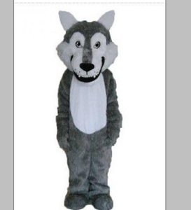 2018 High quality hot Husky Dog Mascot Costume Adult Cartoon Character Mascota Mascotte Outfit Suit Fancy Dress Party Carnival Costume