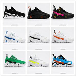 2020 Yeni Hava Barajı Düşük Basketbol Ayakkabı Yüksek Kalite Için Çin Kültürü Siyah Beyaz Gri Erkek Açık Havada Atletik Spor Sneaker