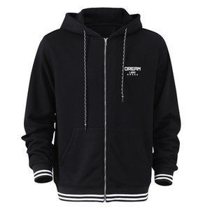 Hoodie Mens Fashion Hoodie Mens Personalized Zipper Sweatshirt Mens Hooded Sportswear Hip Hop Autumn and Winter Hoodie Sweatshirt
