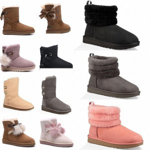 2020 SALE New Fashion Australia classic NEW Womens boots Bailey BOW Boots Snow Boots for Women boot winter h90Z#