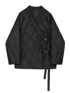Jacket for Women Fashion Coat Lightweight Cotton-wear 2020 Winter New Loose-fitting Diamond-shaped Jacket