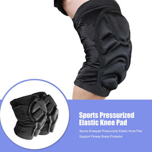 1 Pair Sport Knee Elbow Pads Guard Thickened Cycling Motorcycle Skiing Skating Snowboard Basketball Knee Protector Brace Support