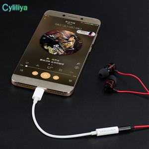C Tipi Connector 3 .5mm Kulaklık Kulaklık Ses Aux Jack Adaptörü Kablosu Samsung Tip C için