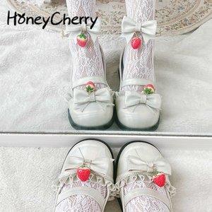 Frauen Schuhe 2020 Neue Lolita Weiches Mädchen Runde Kopf Wohnungen Süßes Weiches Mädchen Schöne Lolita Kleine Lederschuhe C1120