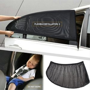 4 2 Pcs Car Front Rear Side Window Sun Visor Anti Mosquito Mesh Cover Sunshade Insulation Fabric Shield Summer UV Protector1