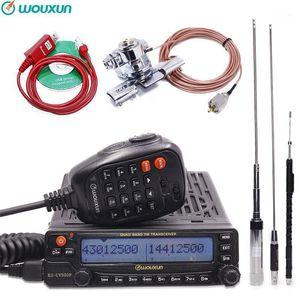 Wouxun KG-UV950P رباعية بنطاقات انتقال ثمانية عصابات الاستقبال عالية الطاقة الإخراج عبر الهاتف المحمول مع متعدد الوظائف راديو 1