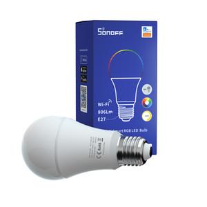 Sonoff B05-B A60 WIFI SMART E27 LED RGB لمبة الإضاءة دعم تغيير لون باهتة الذكية