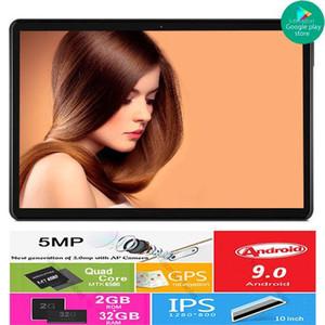 Satış Android 9.0 Pie Os Google Oyun 10 Inç Tablet 3G Telefon Arama 32 GB ROM Çift SIM Kartları Wifi A-GPS IPS 2.5D Cam Tablets PC1