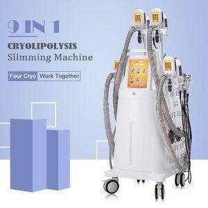 2020 Profesyonel 4 Handpiece Cryolipolisis Criolipolisis Yağ Azaltma Soğuk Lipoliz Cihazı 15 Inç LCD Yüksek Sınıf Salon Ekipmanları