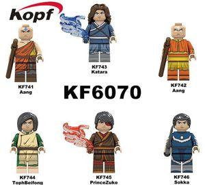 XMY KF6070 mini Sanshitong series assembly building blocks man doll toy minifig bricks toy for kid boy birthday gift bag