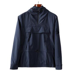 Topstoney 2020ss Yeni Bahar ve Sonbahar Kapüşonlu Yarım Zip Cebi Gençlik Moda Konng Gonng Avrupa ve Amerikan Boş Zaman Stil erkek Ceket