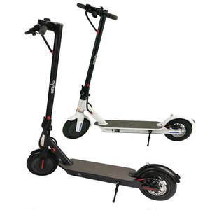 New 350W High Power Electric Scooter 8.5inch 7.5AH 36v Bluetooth APP Smart Scooter E-Bike HT-T4 Germany Warehouse DHL Fast Shipping