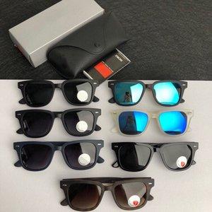 Red fashion sport sunglasses for men 2020 unisex glasses men women sun glasses silver gold metal frame UV400 Eyewear lunettes with box H0ct#
