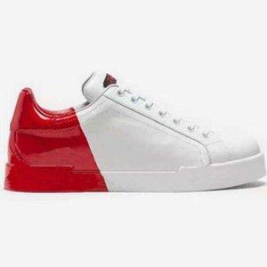 Mode Beste Top Qualität Echtleder Handmade Multicolor Gradient Technische Turnschuhe Männer Frauen Berühmte Schuhe Trainer18