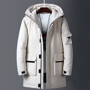 2020 new fashion luxury design men and women winter down cotton coat jacket hooded windproof fabric warm free shipping