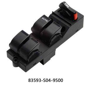 83593-S04-9500 Мастер электроэнергии Управляющий выключатель для Civic CX EX HX LX SI 4 Дверь 1996-2000