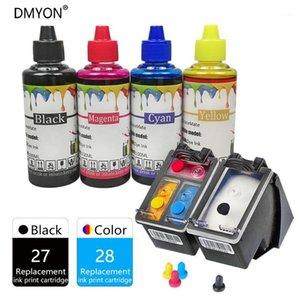 Ink Cartridges DMYON 27 28 XL For Printer Compatible Deskjet 3320 3322 3420 3425 3450 3520 3520v 3550 3620v 3650 3650v1