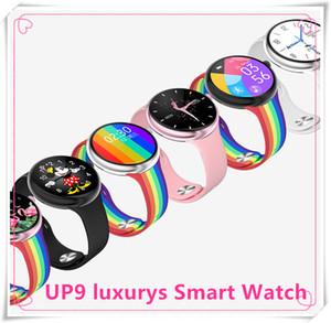 2020 Women s Smart Watch UP9 Bluetooth Call reloj inteligente Sport Fitness Heart Rate Blood Pressure Oxygen Monitor IP67 waterproof