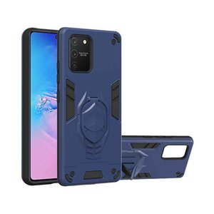 Caja de teléfono protectora delgada a prueba de golpes para Samsung A91 M80S S10 Lite Kickstand cubierta del teléfono dura para Samsung Galaxy Note 10 5G