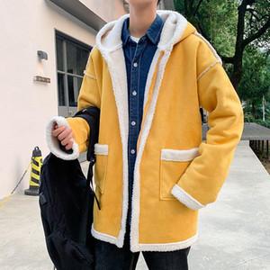 2020 New Oversize Winter Men Parkas Men Warm Winter Hooded Coat Thicken Zipper Casual Mens Fashion Jackets