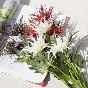 1шт 67см Real сенсорный Искусственные цветы Свадебные украшения Невеста Холдинг Поддельные Цветы Букет для дома Таблица сада Декор Цветочные