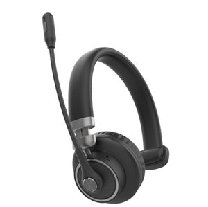 M91 M97 Call center Bluetooth headphone Broadcast Headset softphone wireless Earphone with mic noise cancelling Boom-mounted microphone