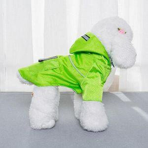 Waterproof Clothes Fashion Dog Pet Raincoat Pet Cat Puppy Coat Rain Supplies Jacket Small Hoodie Clothes Hot Oouis