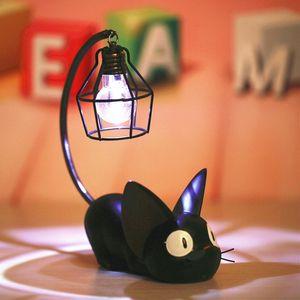 Cute LED Lights Magic Cartoon Cat Animal Night Light Baby Nursery Table Lamp For Baby Kid Birthday Gift Home Decoration