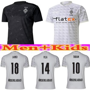 20 21 120th Anniversary M hengladbach Men's + Children's Gladbach 2020 21 Monchengladbach ZAKARIA Pleasure Black Bolsa Football Shirt Set