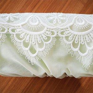 Craft Gift стола Home Tissue Box Украшение Салфетка Смазливого кружевная отделка дисплей вышивка Современный пыл хранение