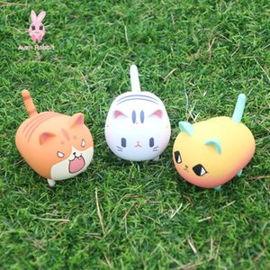 Blind Box Toys Electric Swing Cat Blind Box Guess Bag Caja Ciega Blind Bag Toys Anime Figures Electric Toys Cute Cat Model Doll 201016