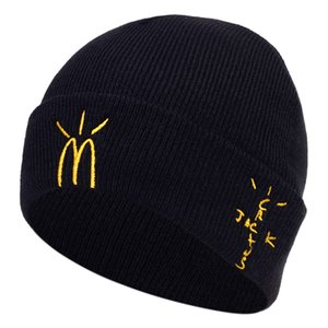 Cactus Travis Scotts Jack Embroidery Casual Beanies for Men Women Fashion Knitted Winter Warm Hat Hip-hop Skullies Hats